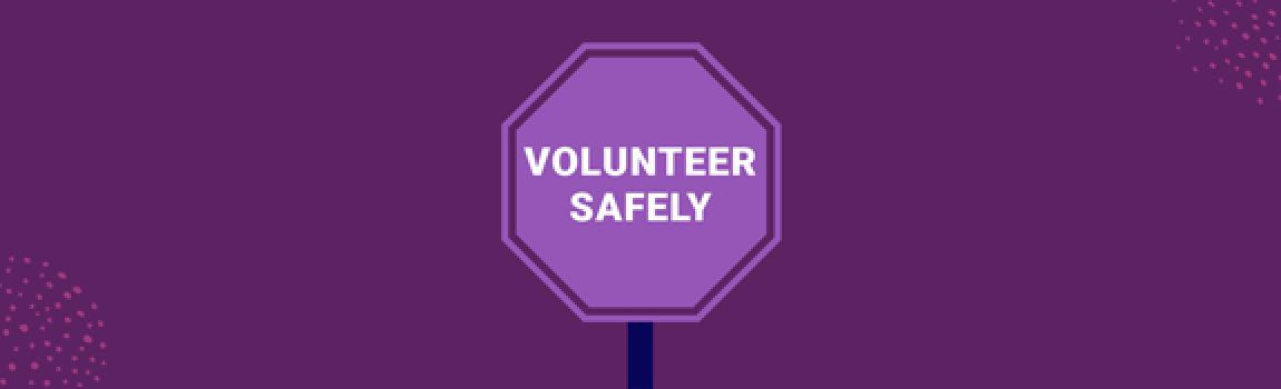 Image for the article Considering volunteering? You can do it safely.